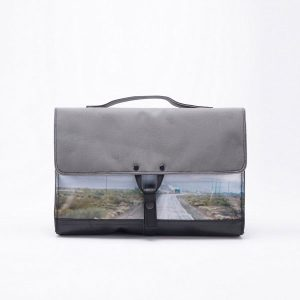 Waste Studio upcycled briefcase