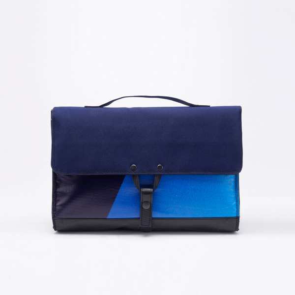 Waste Studio stylish briefcase