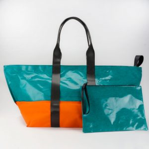 Baher L Waste Studio Large beach bag