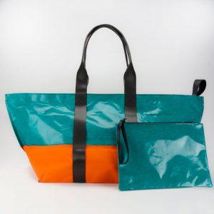 Baher L Waste Studio Large beach bag