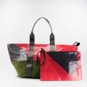 Baher S Waste Studio Small beach bag